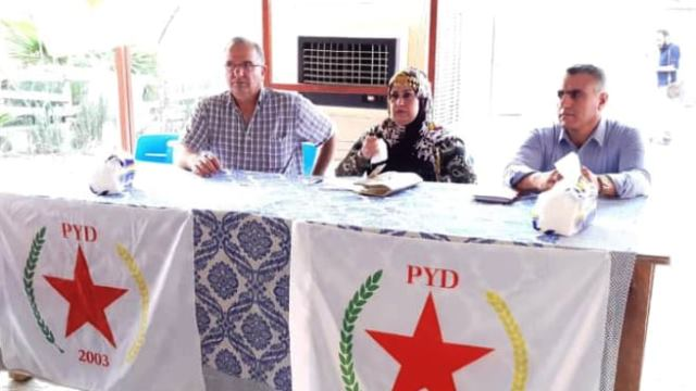 Photo of حزبنا يجتمع بشيوخ ووجهاء عشائر في منطقة الحسكة