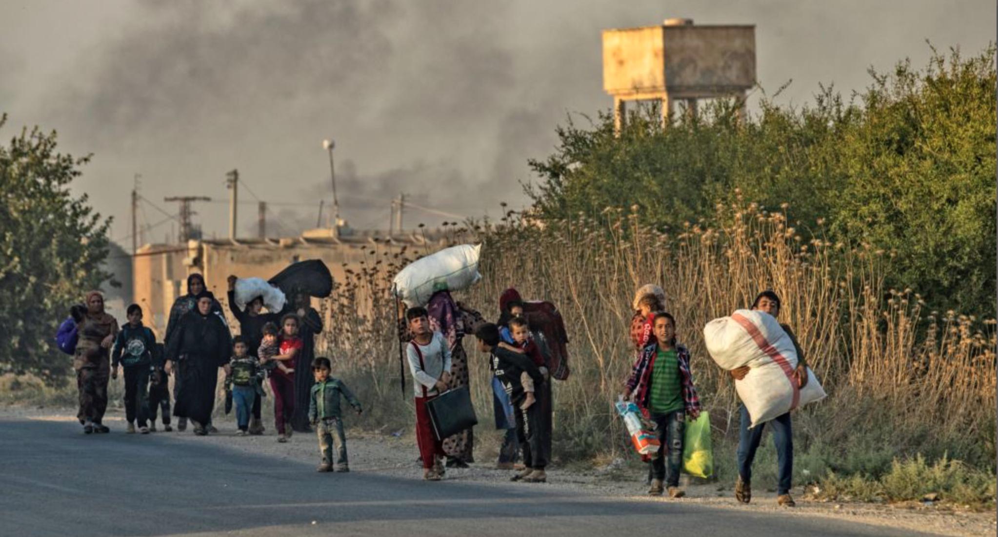 Photo of مفوضية شؤون اللاجئين: العملية التركية داخل سوريا تهدد بأكبر موجة نزوح في العالم