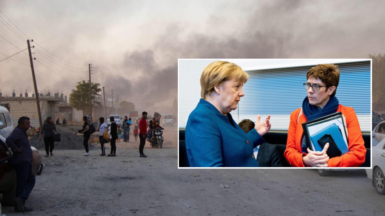 Photo of رئيسة الحزب الحاكم في ألمانيا ووزيرة دفاعها تطالب بمنطقة آمنة دولية شمال سوريا