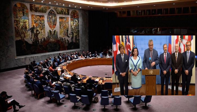 Photo of المجموعة الأوربية في الأمم المتحدة تطالب بوقف العدوان التركي على شمال سوريا