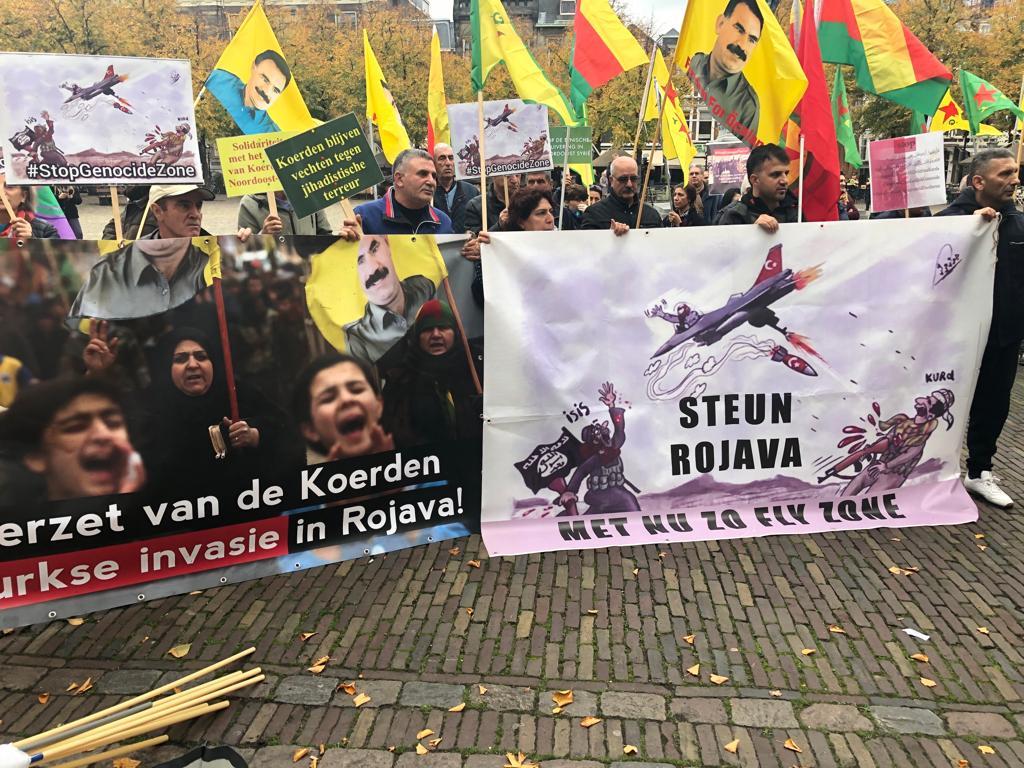 Photo of استمرار الاعتصامات في لاهاي الهولندية تضامناً مع مقاومة روج آفا