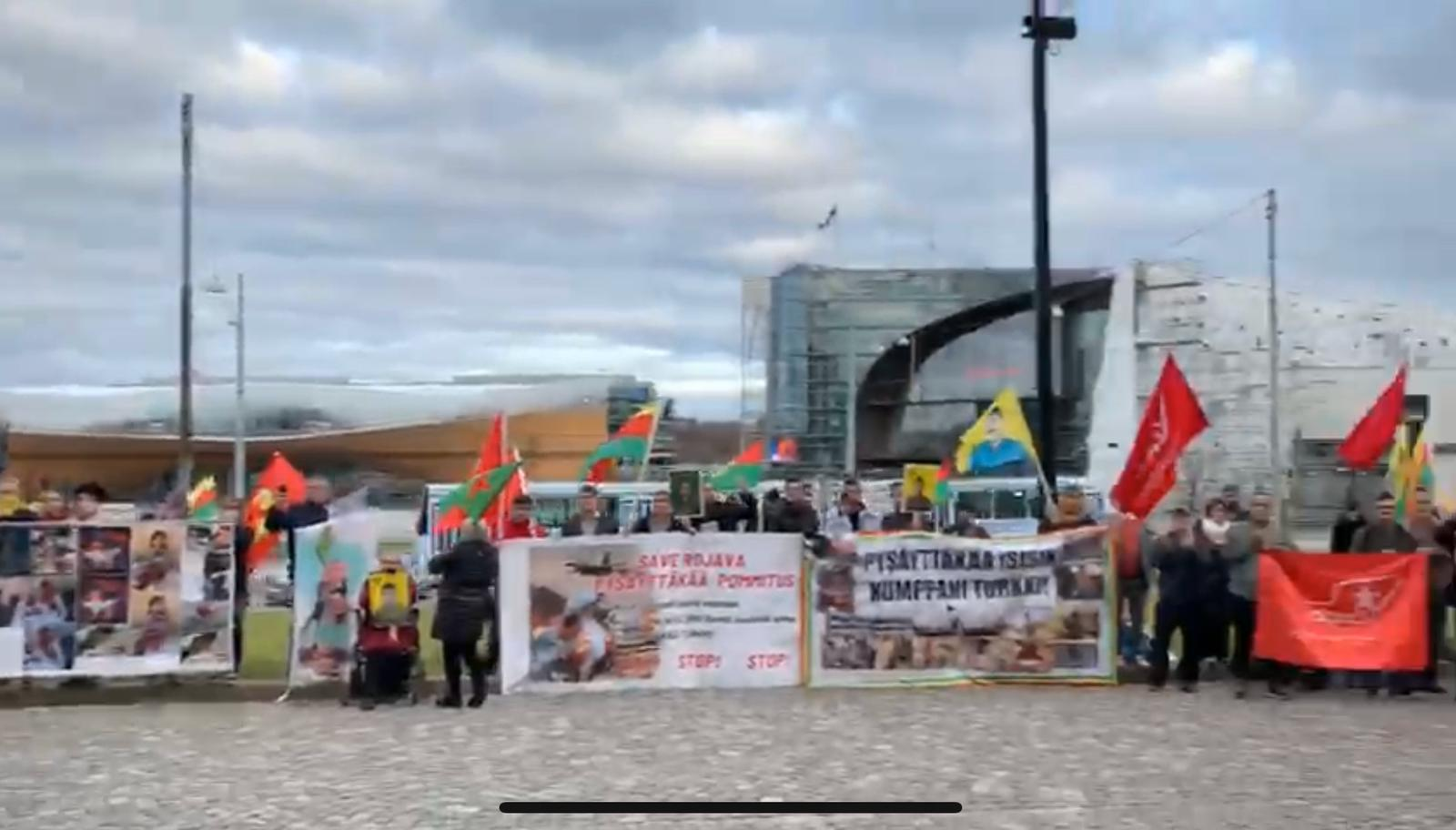 Photo of أربع كتل برلمانية رئيسية في فنلندا تتضامن مع الكرد وتندد بالعدوان التركي