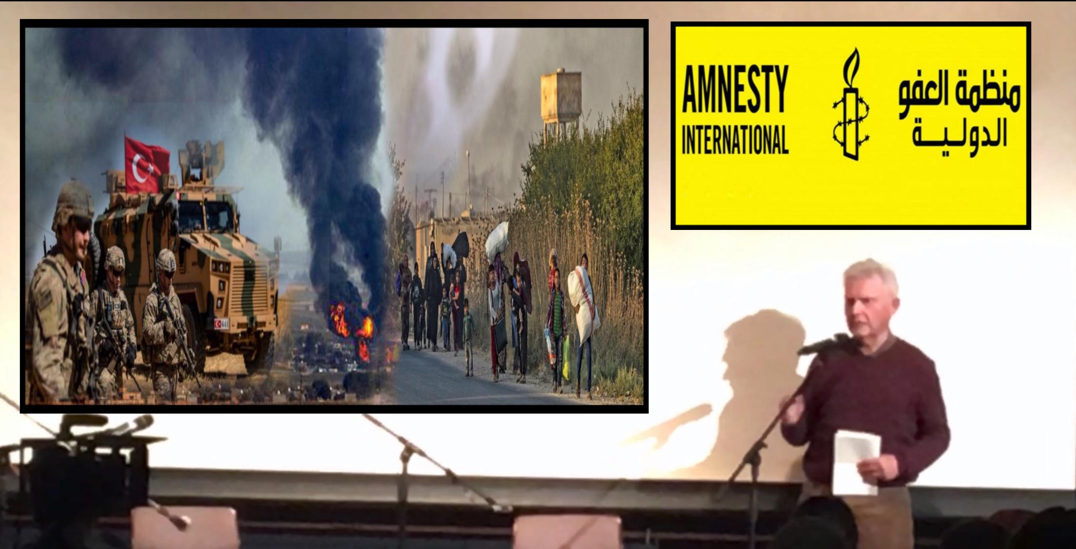 Photo of مسؤول في منظمة العفو الدولية يؤكد على انتهاكات تركيا في شمال وشرق سوريا