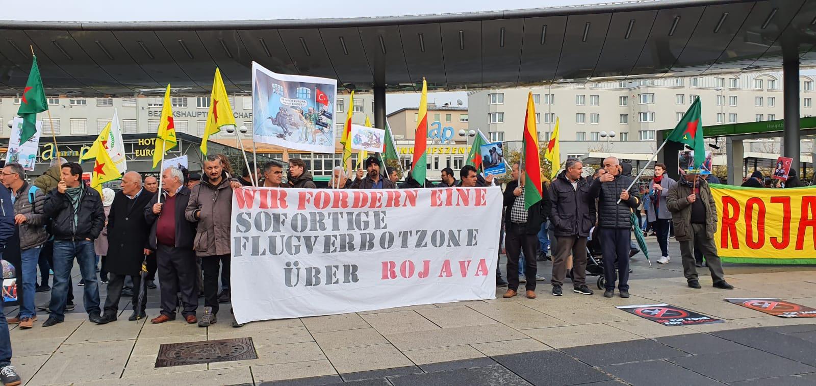 Photo of كراتس النمساوية في اليوم العالمي للتضامن مع روج آفا