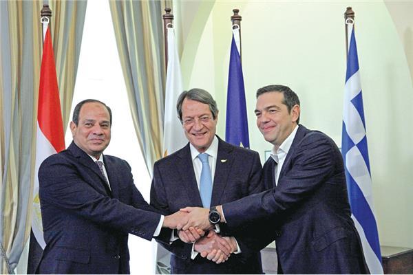 Photo of مصر اليونان وقبرص تدريبات مشتركة لمواجهة العدوان التركي المارق في المتوسط وسوريا
