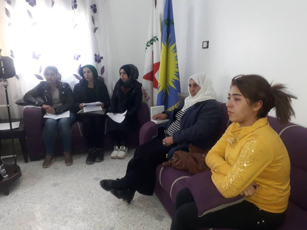 Photo of مجلس المرأة في الحزب يعقد الاجتماع السنوي لأعضائه في مقاطعة كوباني