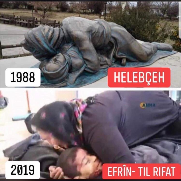 Photo of الادارة الذاتية: مجزرة تل رفعت امتداد لجرائم تركيا