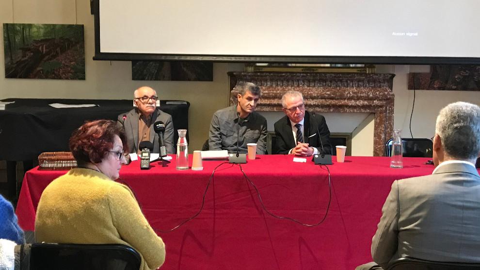 Photo of مؤتمر صحفي في باريس حول جرائم الحرب التركية في شمال وشرق سوريا