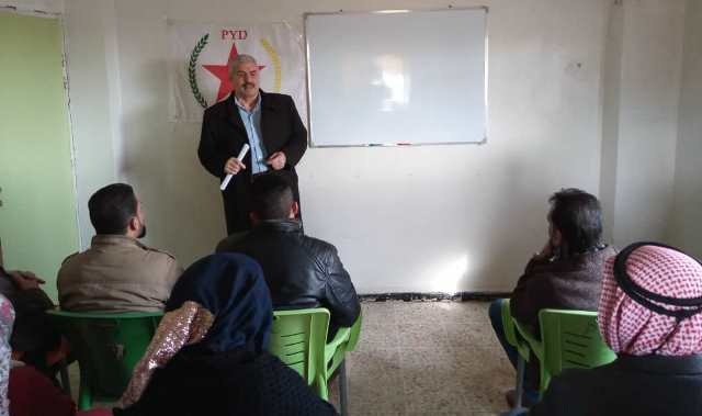 Photo of الاتحاد الديمقراطي يفتتح دورة تدريبية لأعضائه في ناحية الشدادي