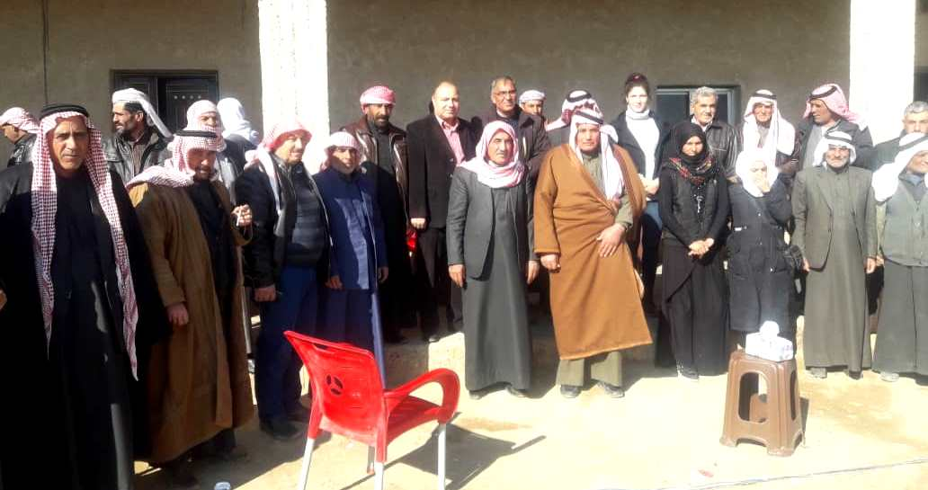 Photo of حزبنا يعقد اجتماعاً لوجهاء عشائر بلدة الرمالة التابعة لناحية صرين بإقليم الفرات