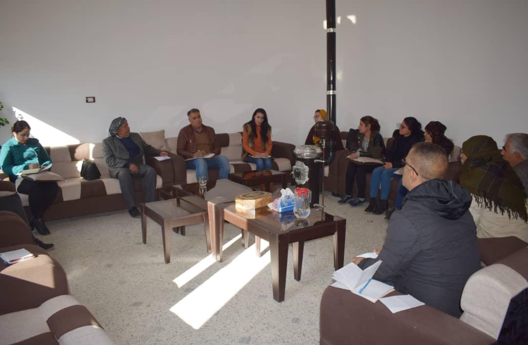 Photo of حزبنا يعقد اجتماعاً لكافة إدارييّ نواحي مقاطعة كوباني
