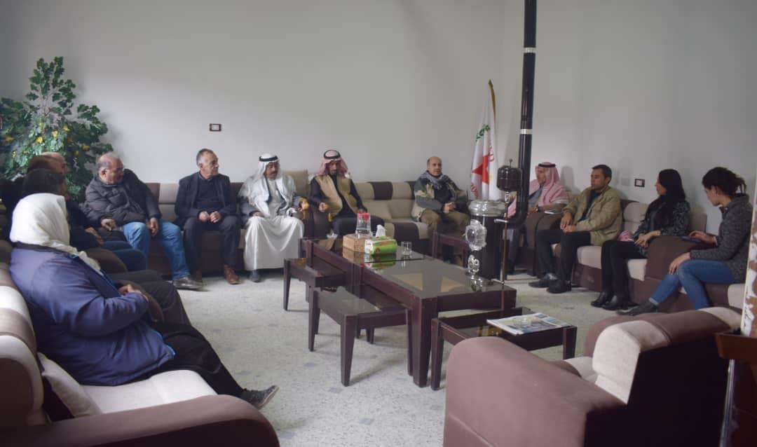 Photo of وفد من العشائر العربية بعين عيسى يزور مكتب الحزب في إقليم الفرات