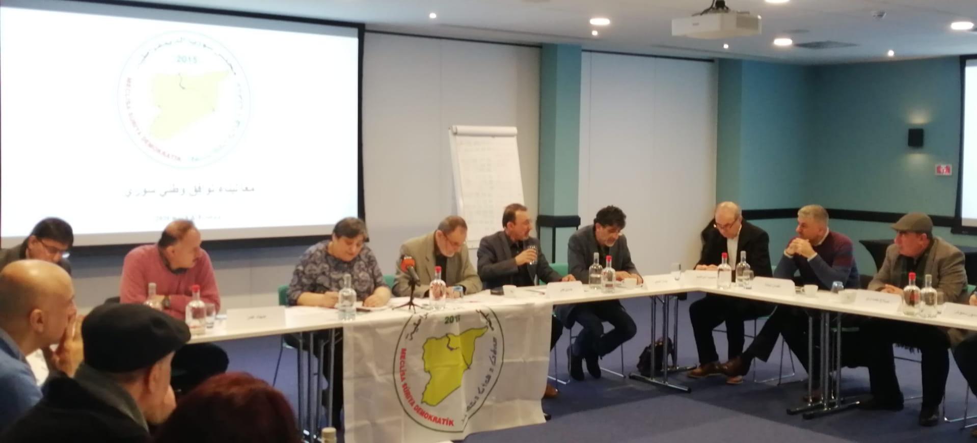 "Photo of ""معاً لبناء توافق سوري"" ورشة عمل في بروكسل"