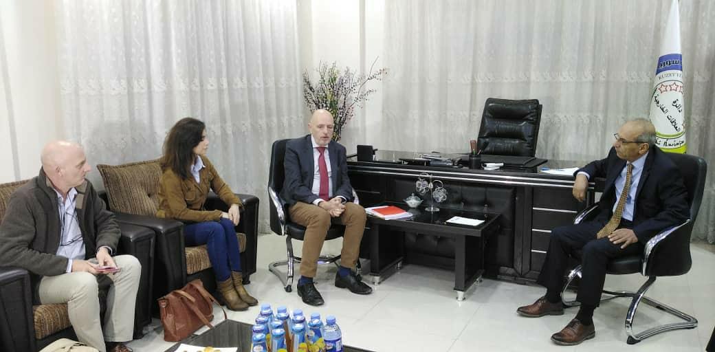 Photo of وفد بلجيكي يزور دائرة العلاقات الخارجية للإدارة الذاتية