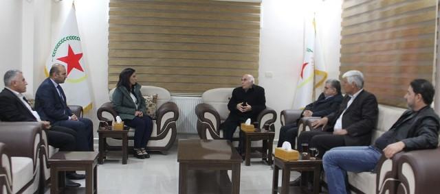 Photo of الديمقراطي التقدمي الكردي يهنئ انعقاد مؤتمرنا الثامن، ويؤكد على ضرورة الوحدة الكردية