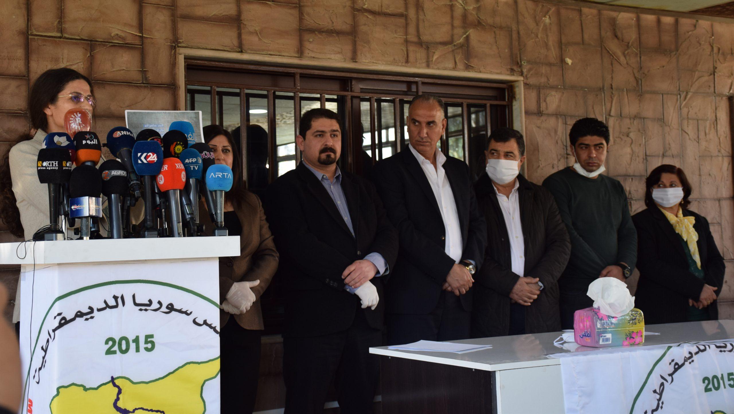 Photo of مجلس سوريا الديمقراطية يُعلن عن تشكيل لجنة لمتابعة ملف المعتقلين والمختطفين