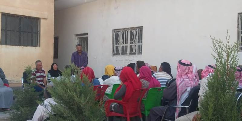 Photo of حزبنا يجتمع مع أهالي جبل كزوان، ويشرح لهم مستجدات الوضع