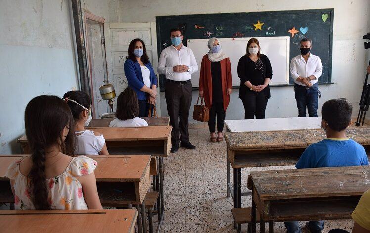 Photo of 230 ألف طالباً وطالبة باشروا عامهم الدراسي الجديد في اقليم الجزيرة وسط اجراءات صحية  معززة