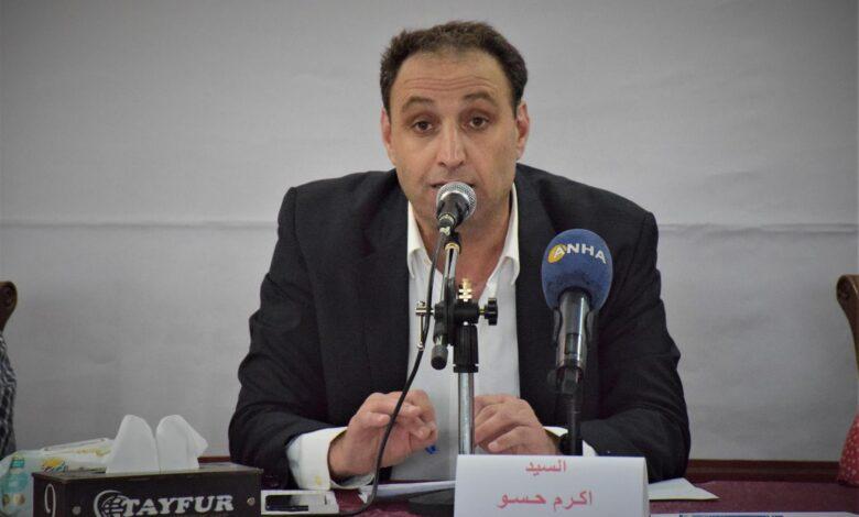 """Photo of أكرم حسو: الحكومة السورية تعرقل مشاركة """"مسد"""" في العملية السياسية"""