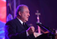 Photo of الرئيس الأرميني: لا يمكن أن نسمح بإبادة جماعية أرمنية أخرى