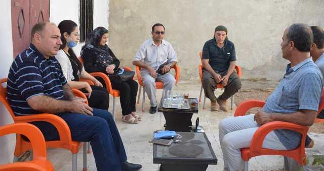 Photo of وفد من حزبنا في كوباني يهنئ حزب سوريا المستقبل بانعقاد مؤتمره الثاني