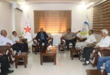 Photo of وفد من منظمات المجتمع المدني يزور الـ PYD