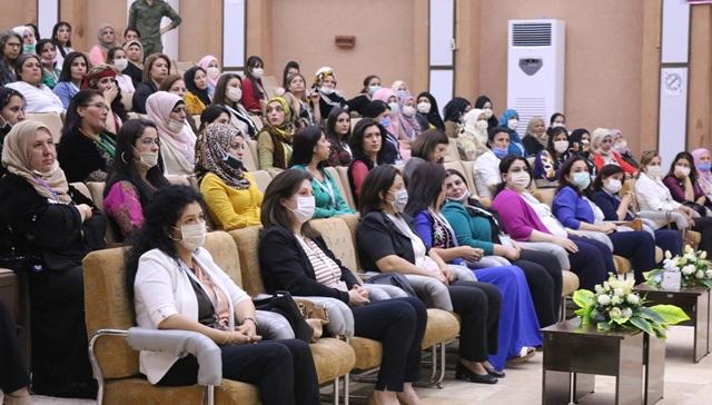 Photo of برقيات التهنئة المرسلة إلى المؤتمر الثاني لمجلس المرأة في الحزب