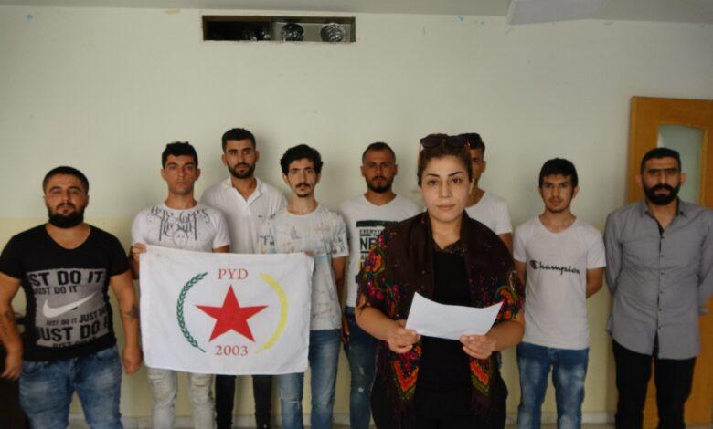 Photo of شبيبة حزبنا في لبنان تدين هجمات الاحتلال التركي على حفتانين