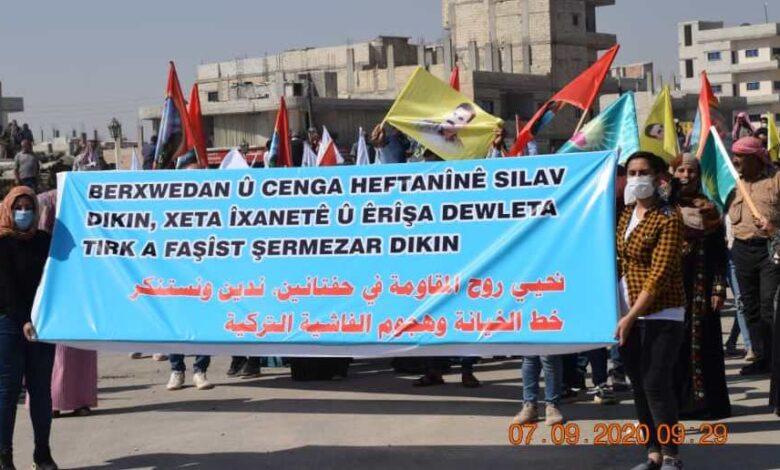 Photo of أهالي كوباني: حفتانين ستكون مقبرة لجيش الاحتلال التركي