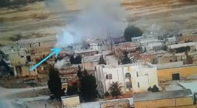 Photo of جيش الاحتلال التركي يقصف مركز ناحية زركان