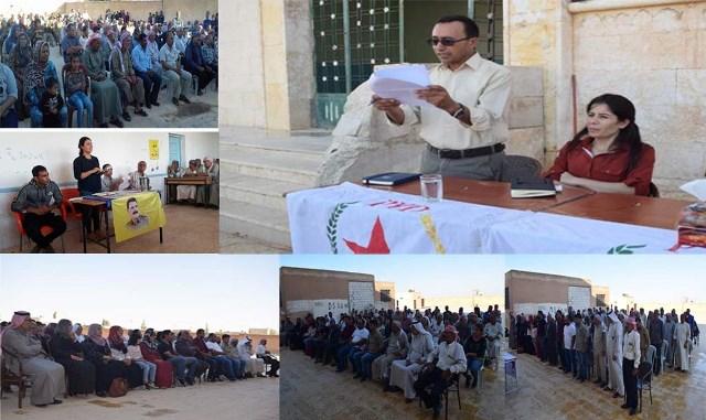 Photo of سلسلة من الاجتماعات الجماهيرية في إقليم الفرات