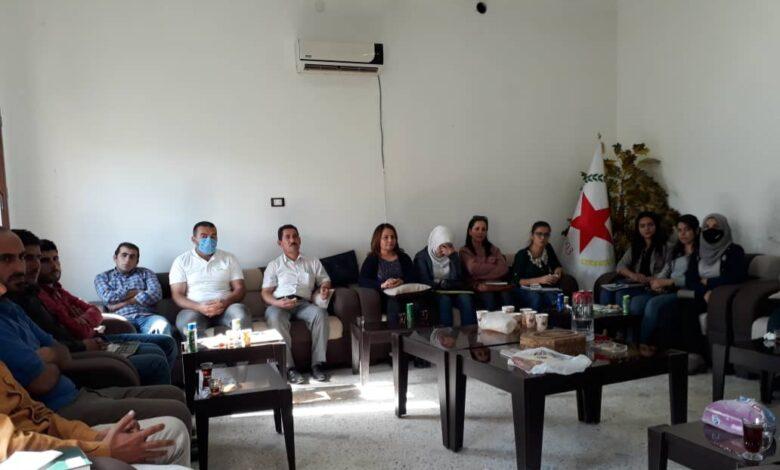 Photo of حزب الاتحاد الديمقراطي PYD يعقد اجتماعاً للمدرسين في اقليم الفرات