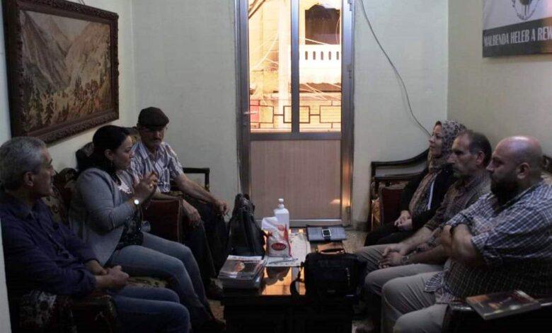 Photo of وفد من حزبنا يزور منتدى حلب الثقافي