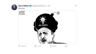 Photo of سياسي هولندي ينشر صورة كاريكاتورية لاردوغان