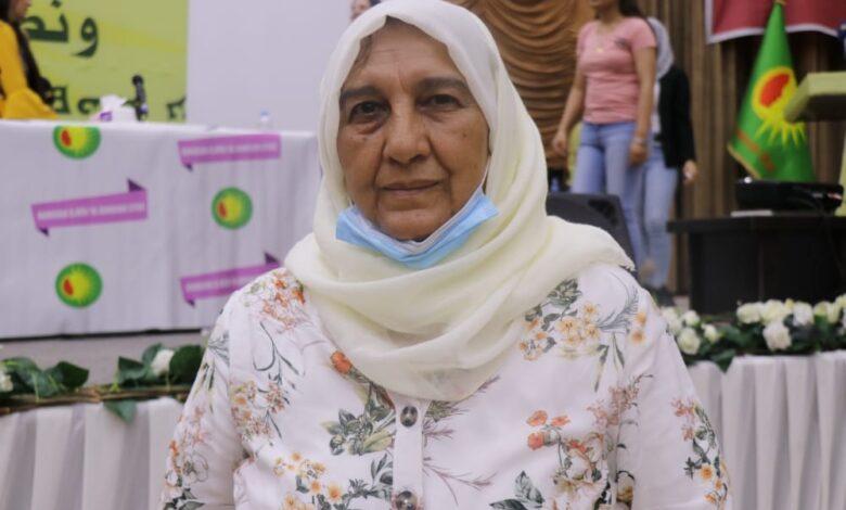 Photo of عائشة أفندي: ثورتنا ثورة جميع الأديان والمذاهب والقوميات