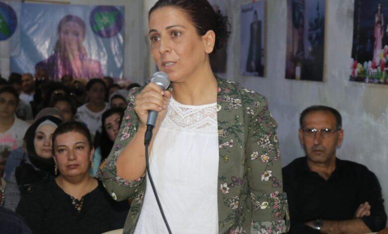 Photo of عائشة حسو: قضية الشهيدة هفرين هي قضيتنا وقضية نساء العالم أجمع