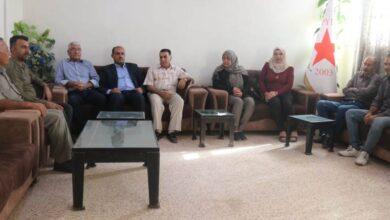 Photo of وفد من مسد يزور مكتب حزبنا في الحسكة