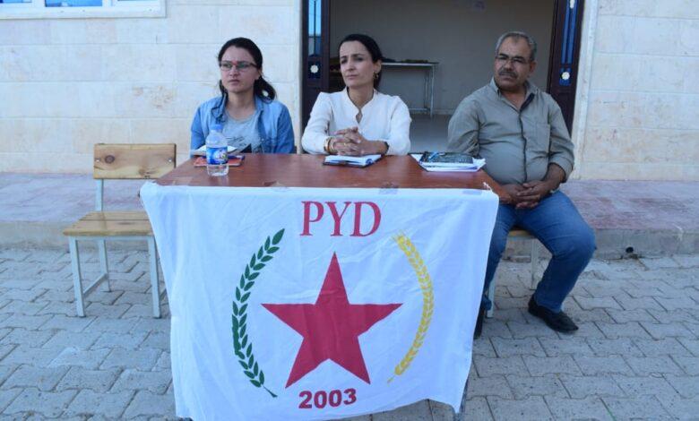 Photo of الـ PYD يعقد سلسلة اجتماعات جماهيرية في إقليم الفرات