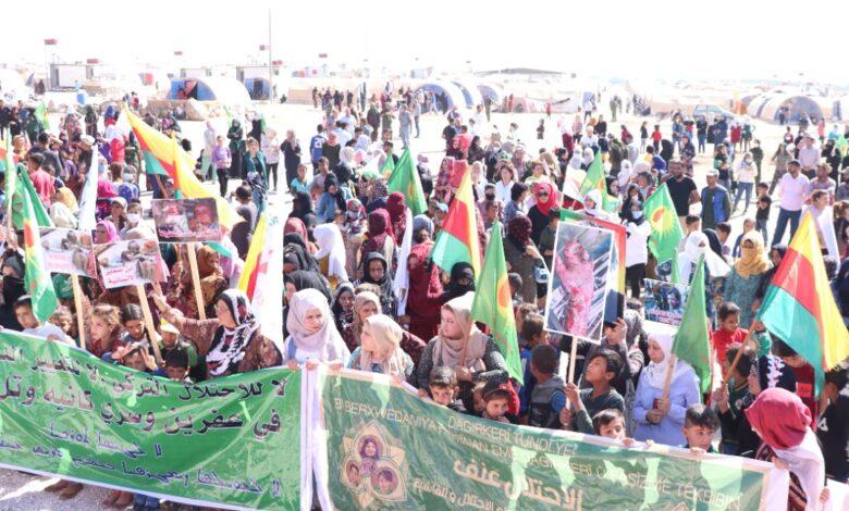 Photo of منظمات وجمعيات نسوية: لا للاحتلال والإبادة معاً نحمي المرأة والحياة