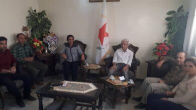 Photo of عائشة حسو في لقاء مع الكتاب والمثقفين الكرد بحلب