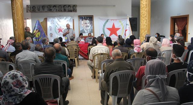 Photo of حزبنا يعقد اجتماعاً موسعاً في ناحية عامودا