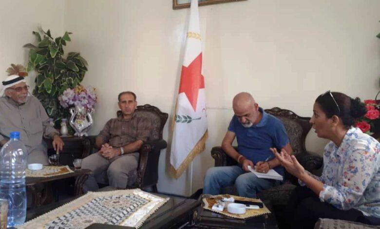 Photo of شخصيات اجتماعية تزور مكتب حزبنا في حلب