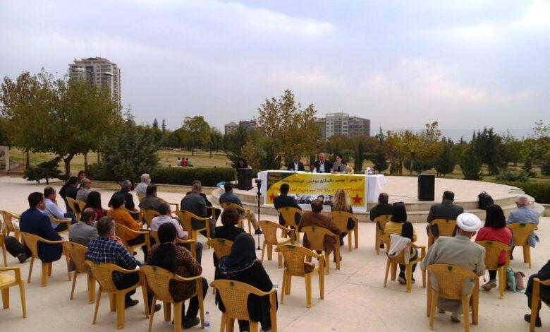 Photo of السليمانية تقدم ندوة عن أهمية مقاومة كوباني