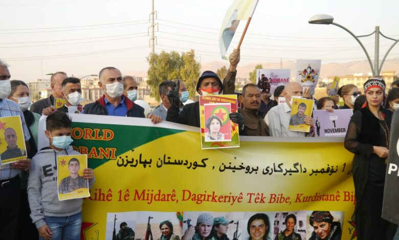 Photo of السليمانية تحيي يوم 1 تشرين الثاني/نوفمبر اليوم العالمي لمقاومة كوباني