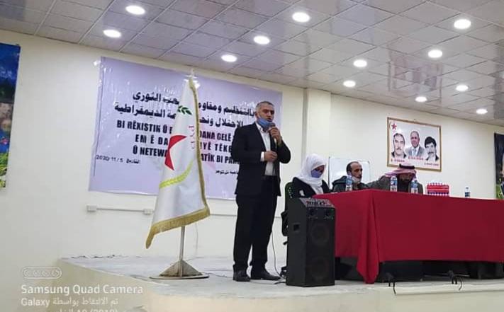 Photo of حزبنا يعقد اجتماعاً وينتخب 12 عضواً لمجلس ناحية تل كوجر