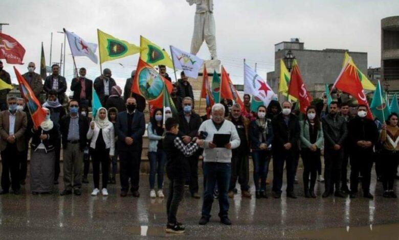Photo of من كوباني أحزاب الوحدة الوطنية يدعون للسلام
