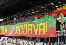 Photo of نادي ألماني لكرة القدم يعلن تضامنه مع ثورة روج آفا ضد الفاشية تركيا