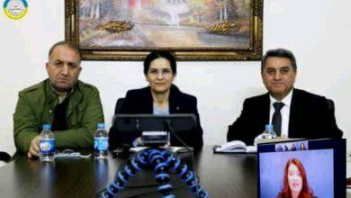 Photo of وزيرة خارجية السويد تؤكد على دعمها لمسد والإدارة الذاتية