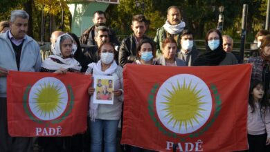 Photo of وقفة إحتجاجية في السليمانية للتنديد بإتفاقية بغداد هولير
