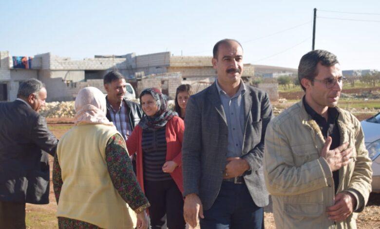 Photo of زيارة وفد PYD في اقليم الفرات لعوائل شهداء الحزب في الذكرى 16